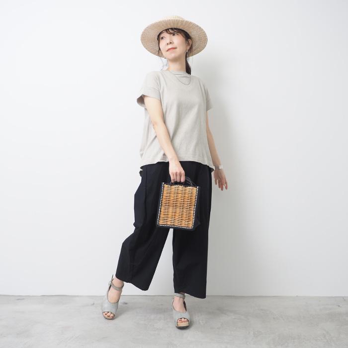 622101 NARU(ナル) ムラ糸リサイクル天竺コクーンT