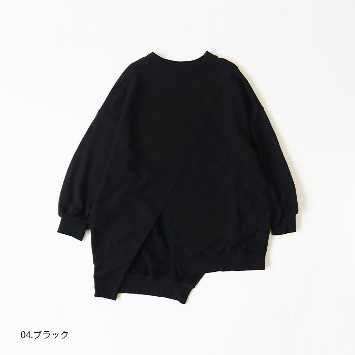 NARU(ナル) 30/10セントラル裏毛×オールスターベアテレコアシンメトリープルオーバー 639300