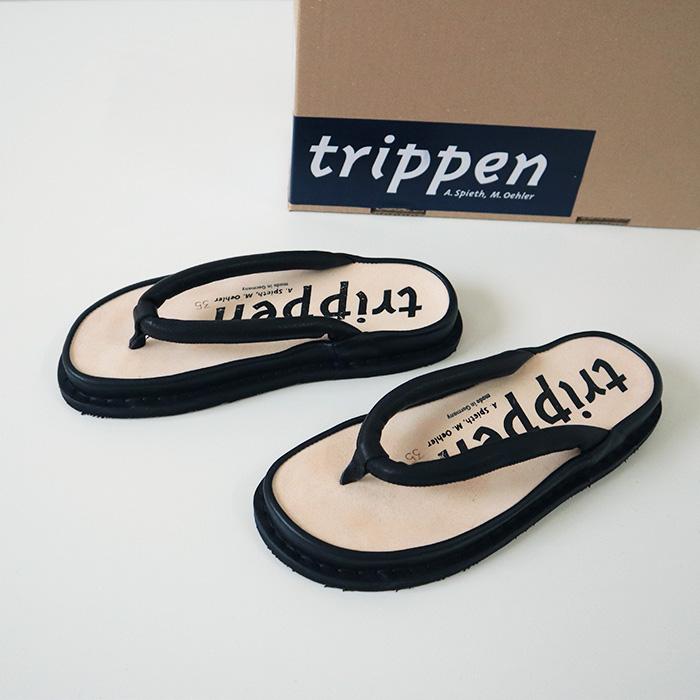 "trippen(トリッペン) 【クーポン利用不可】 レザーサンダル""zori"""