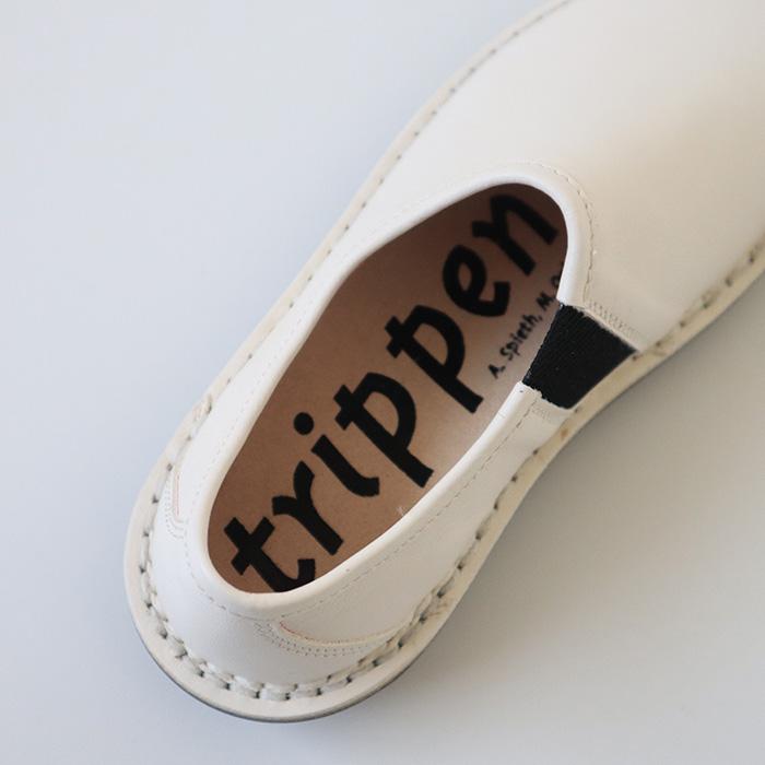 """trippen(トリッペン) 【クーポン利用不可】 <br>NARU online store限定デザイン サイドゴアレザースリッポン""""yen"""""""