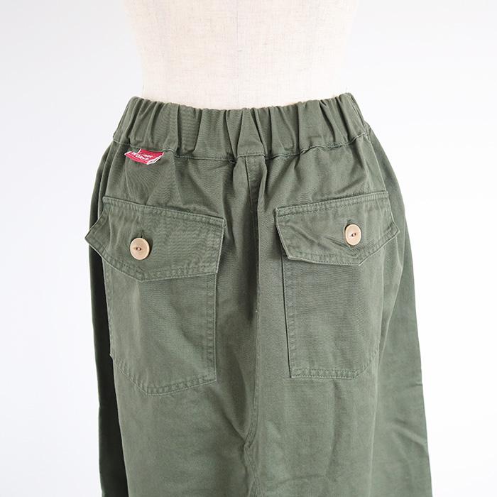 NARU LIBRE(ナル リーブル) グリストーン(バイオウォッシュ加工)ロングスカート 742800