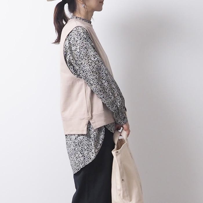 NARU(ナル) ふんわり裏毛ベスト 638025