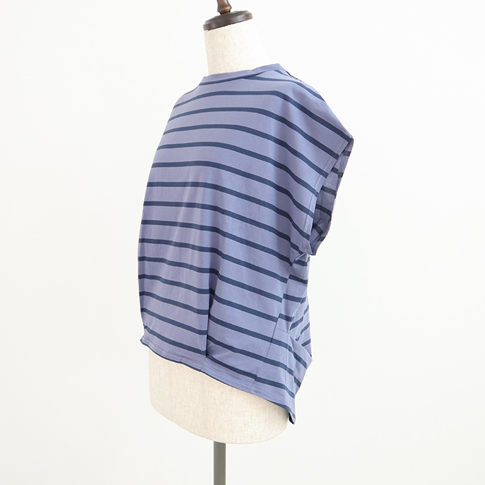 NARU(ナル) カメノコボーダーシャツ 629225