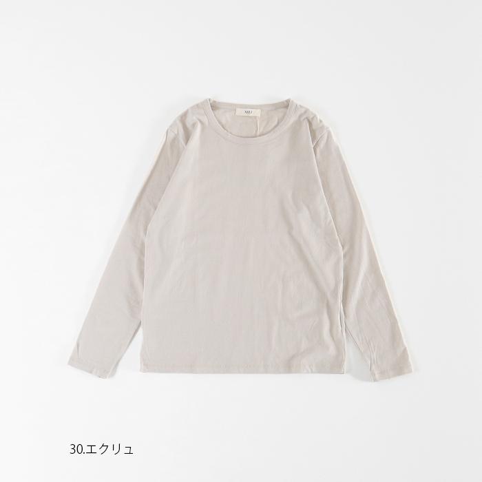 新色入荷!NARU(ナル) 40/2天竺長袖プルオーバー 628072