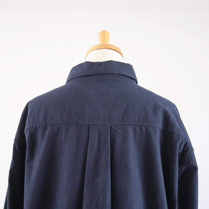 予約受付中!10月中旬納期 NARU(ナル) ユニセックスモケモケシャツ 643120