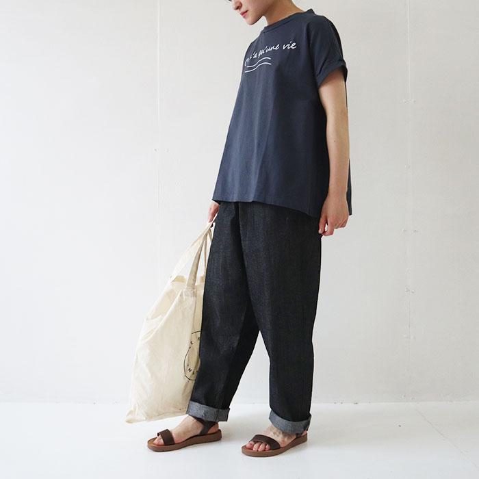 NARU(ナル) 40//天竺ワイドプリントT 637015