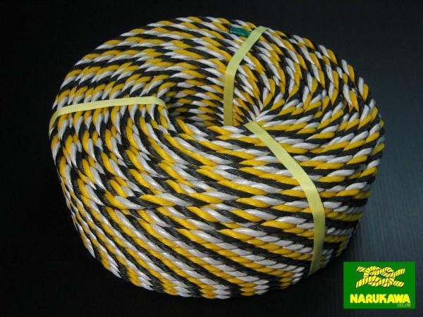 反射標識ロープ 12mmX100m
