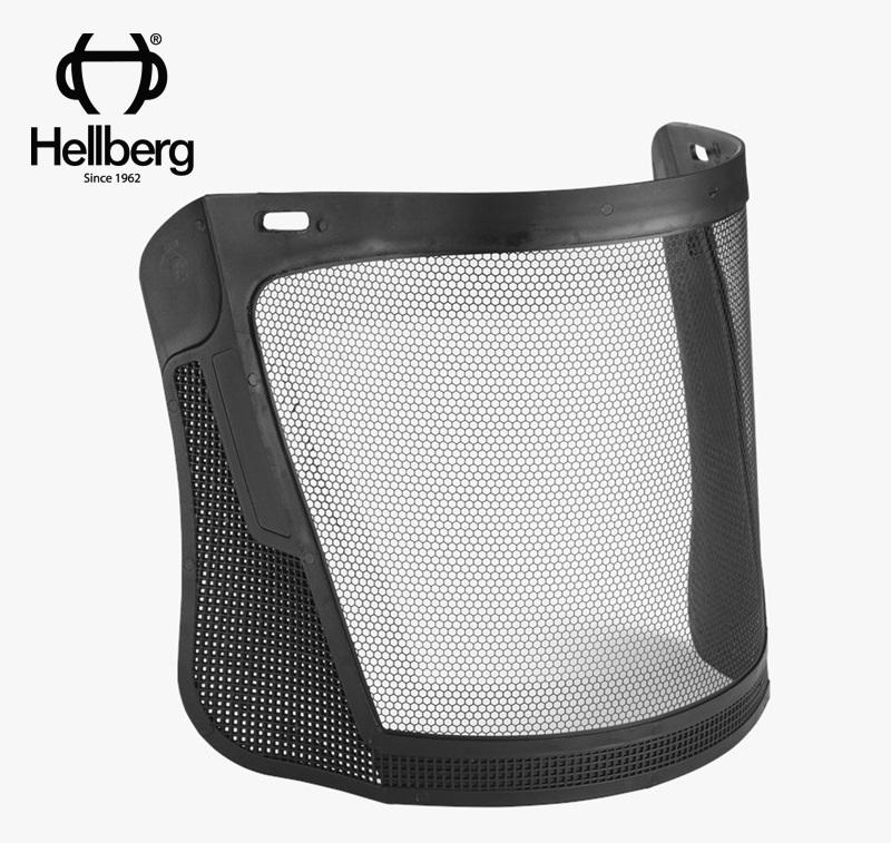 Hellberg  メッシュバイザー(エッチング・スチール製)