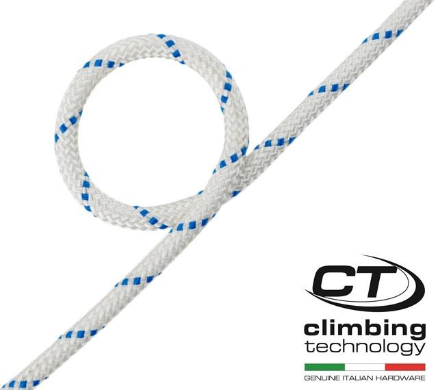 【訳あり販売】 Climbing Technology セミスタティックロープ