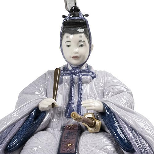 【お名前プレートプレゼント】リヤドロ LLADRO No.9410 『雛人形(Violet)』