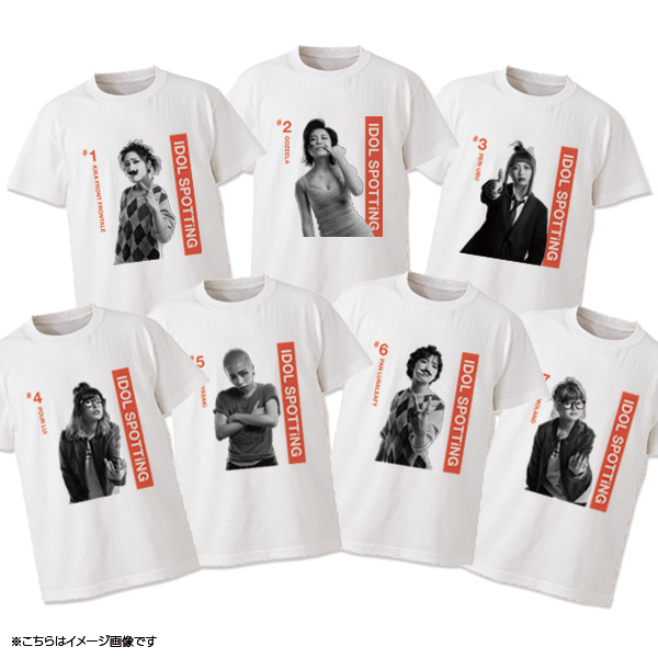 WACK×Deadman IDOL SPOTTiNG Tシャツ(BiS)