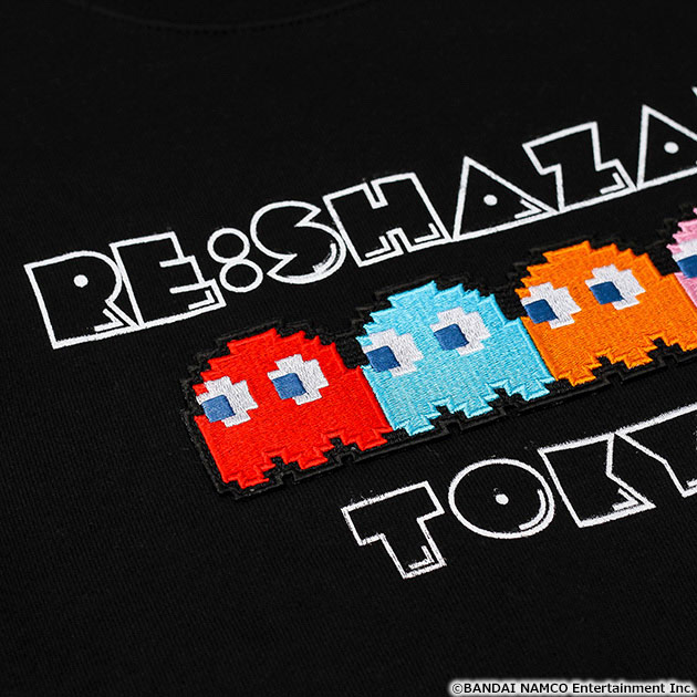 VIDEO GAME TOKYO パックマン ゴースト刺繍付きスウェット