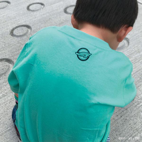 新幹線変形ロボ シンカリオン E5はやぶさ Mk� キッズ用Tシャツ
