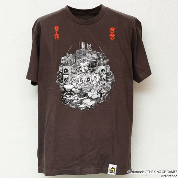 THE KING OF GAMES スプラトゥーン2 ω-3 Tシャツ