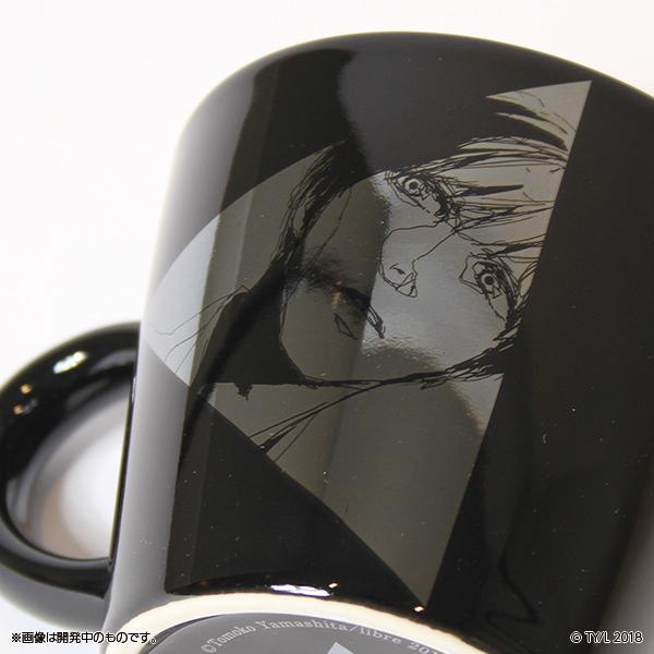さんかく窓の外側は夜 マグカップ