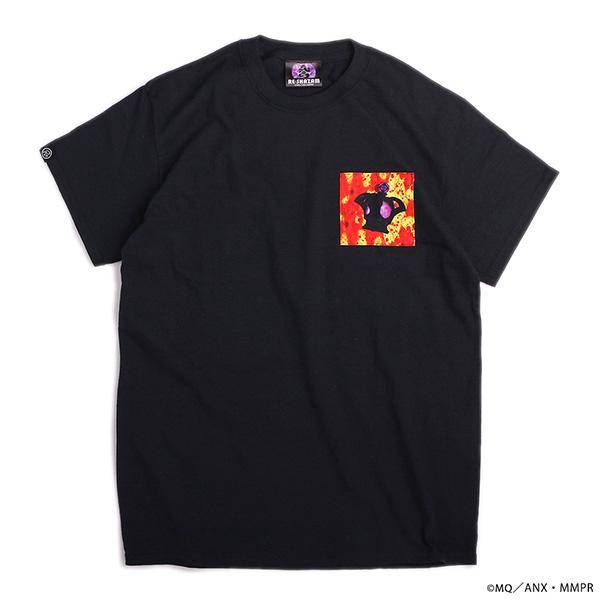 劇場版 魔法少女まどか☆マギカ まどかほむら パッチワークTシャツ