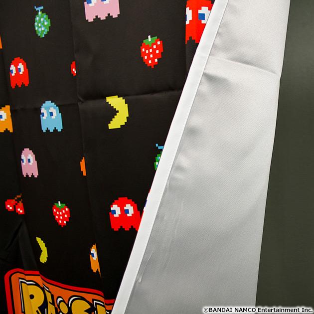 VIDEO GAME TOKYO パックマン 遮光付きカーテン 135cm