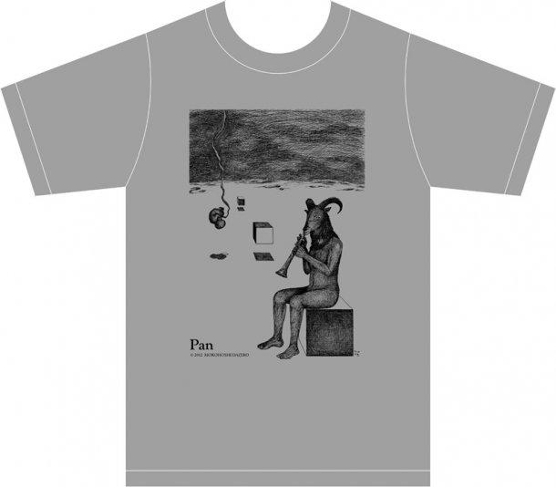 諸星大二郎Tシャツ「パンの神」