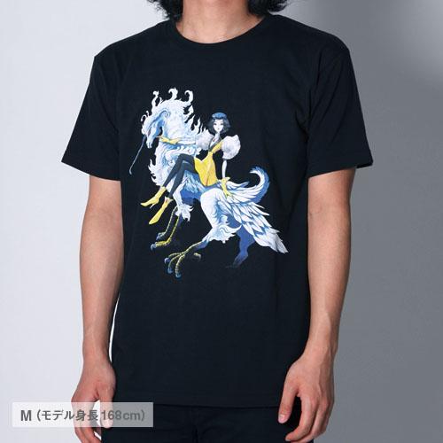 E.ファイブスター物語 ファティマ シルエットTシャツ(京)