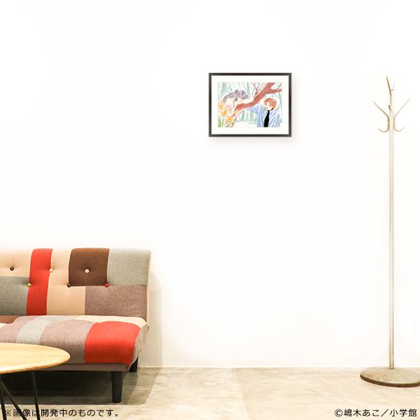 嶋木あこ20周年記念 サイン入り複製原画「むちゃくちゃ大好き」(原寸大A3サイズ)