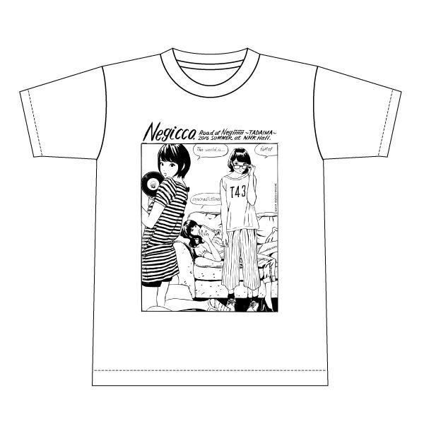 Negicco「江口寿史×Negicco Tシャツ」(復刻)