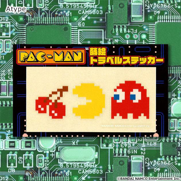 VIDEO GAME TOKYO パックマン 蒔絵トラベルステッカー