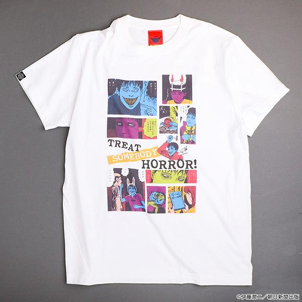 伊藤潤二 双一 Tシャツ