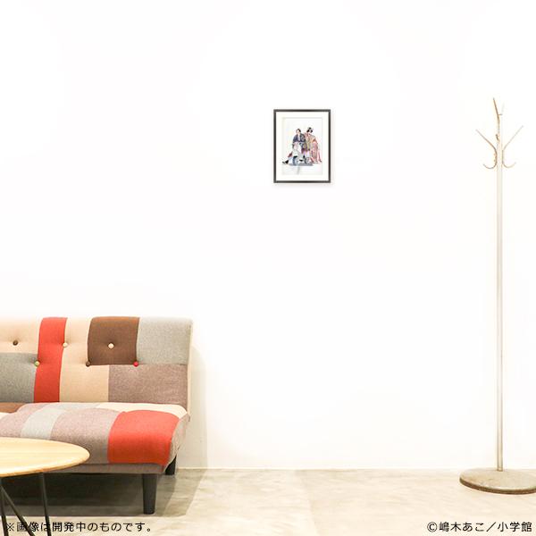 嶋木あこ20周年記念 サイン入り複製原画「ぴんとこな B」(B5サイズ)