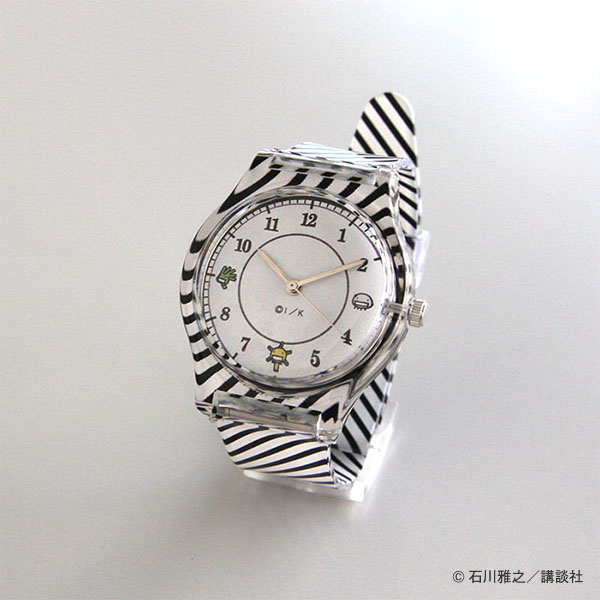もやしもん 腕時計 KAMOSHI watch ストライプ柄