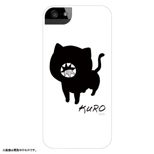 ソウマトウ「黒」 iPhoneケース ホワイト