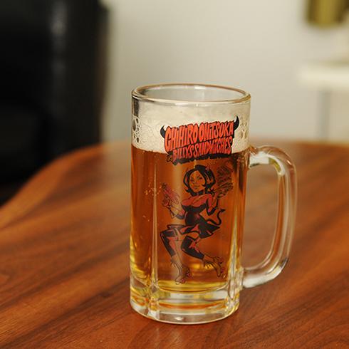 鬼束ちひろ & BILLYS SANDWITCHES ビールジョッキ
