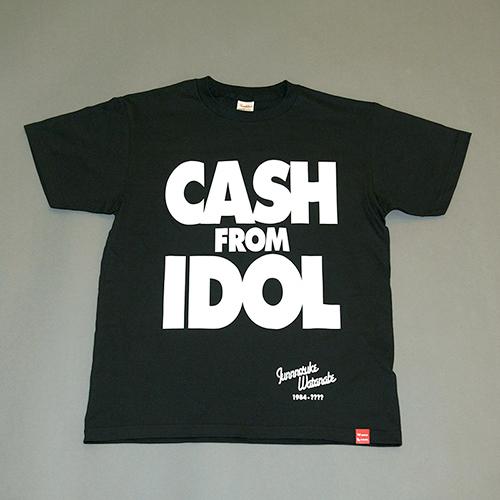 WACK「CASH FROM IDOL」復刻Tシャツ(WACKバージョン)