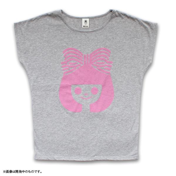りぼん Tシャツ グレー