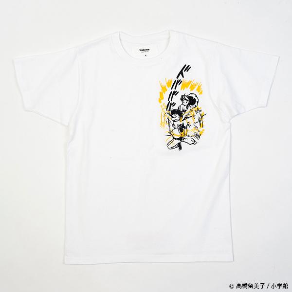 うる星やつら グリッチ刺繍Tシャツ(電撃)