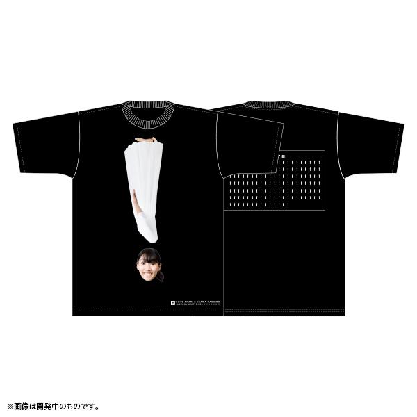 佐保明梨×宇川直宏 100EXCLAMATIONS!Tシャツ NO.072(限定1着)