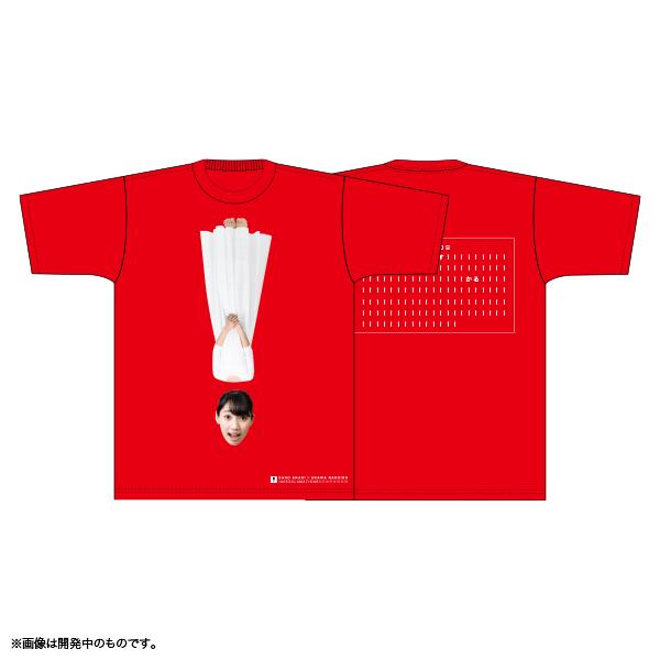 佐保明梨×宇川直宏 100EXCLAMATIONS!Tシャツ NO.075(限定1着)