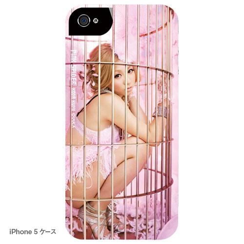 ピンク スパイダー iPhoneケース B キャンディ(写真プリントタイプ)
