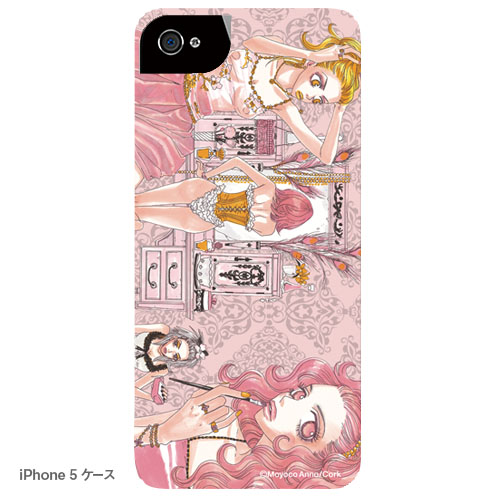 バッファロー5人娘 iPhoneケース B ドレッサーと娘たち(写真プリントタイプ)