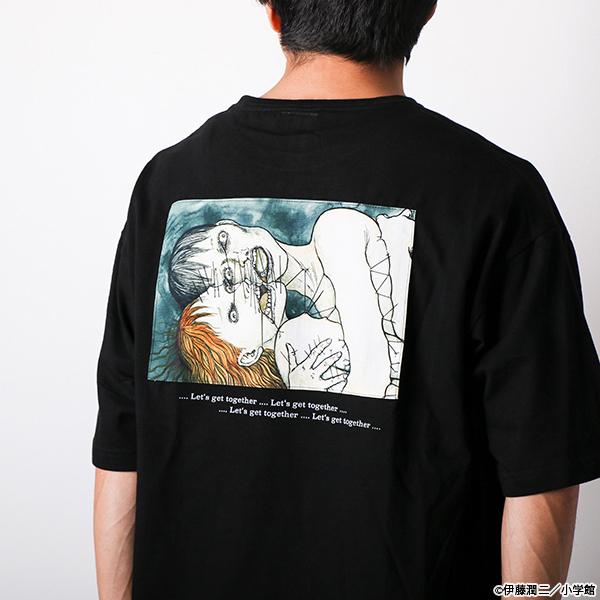 伊藤潤二 億万ぼっち ポケットTシャツ