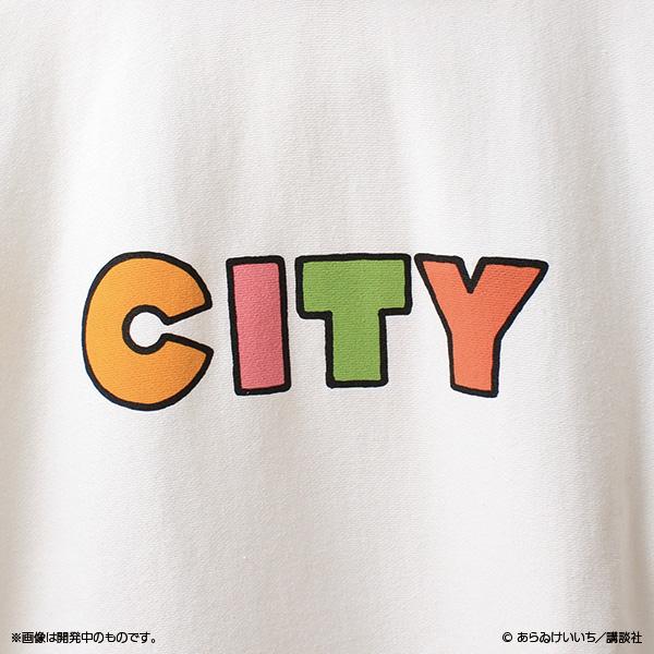 CITY ロゴパーカー
