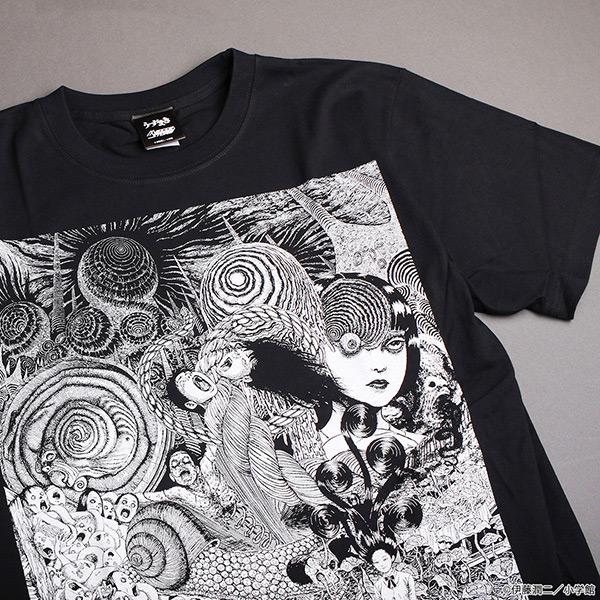 伊藤潤二 うずまき Tシャツ