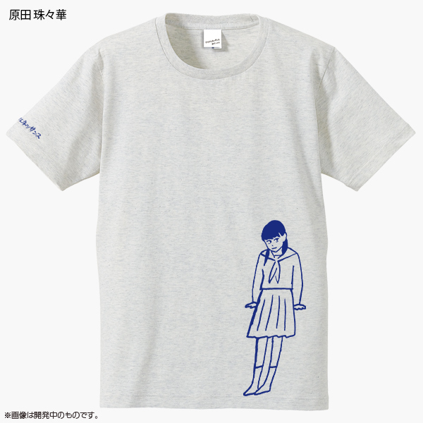 アイドルネッサンス×西村ツチカ ソロTシャツ&ステッカー