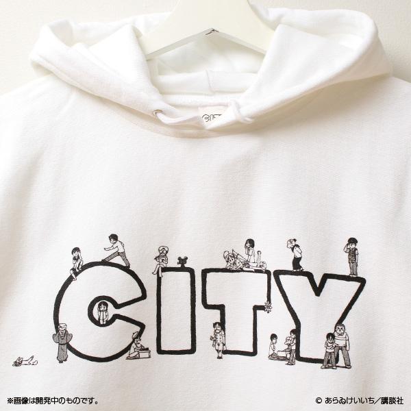CITY CITYの住人パーカー
