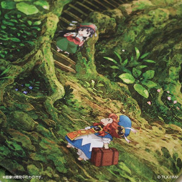 ハクメイとミコチ 森のトートバッグ