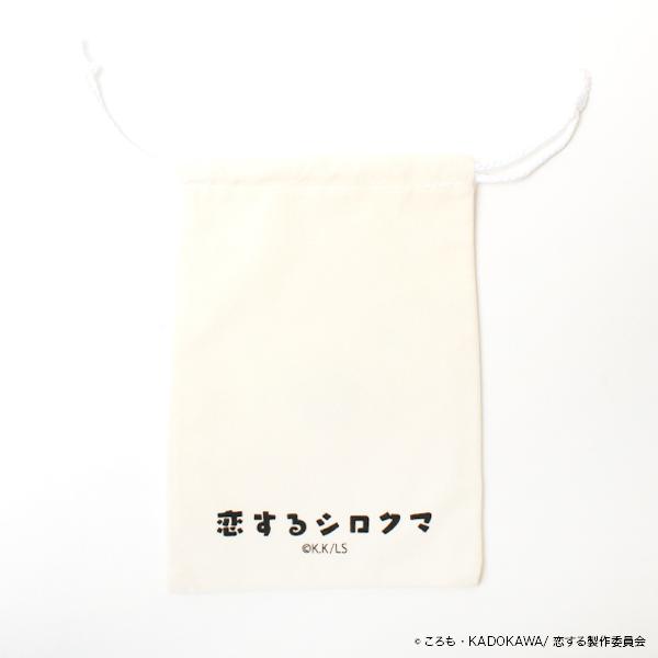 恋するシロクマ 缶ミラー&ポーチセット