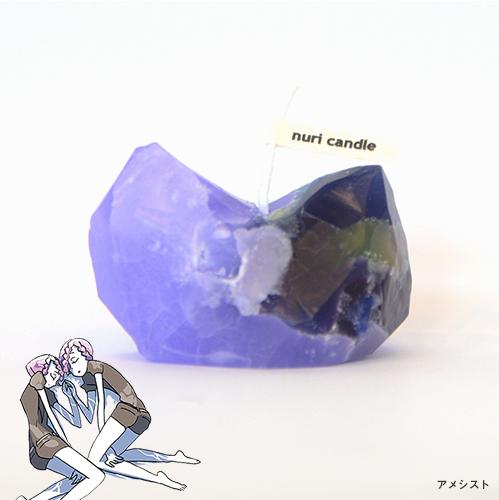 【再販売】宝石の国 鉱石キャンドル