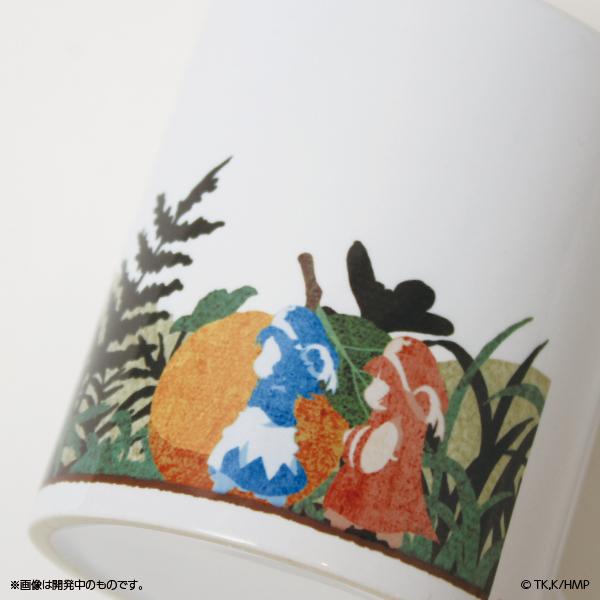 ハクメイとミコチ 森のマグカップ