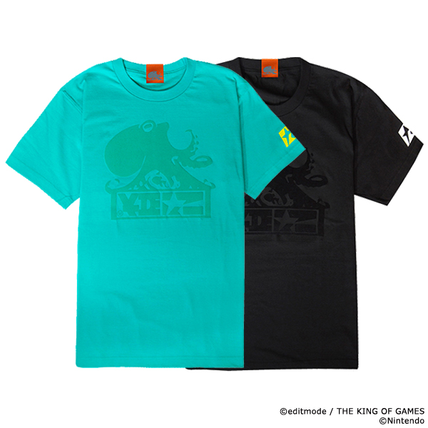 THE KING OF GAMES スプラトゥーン2 キングオクトTシャツ