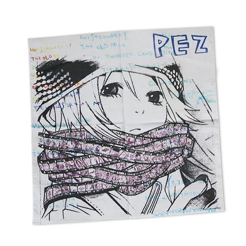 PEZ ハンカチ(ペッツ)