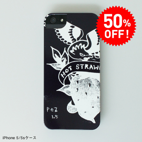 【50%OFFセール】PEZ iPhoneケース(HOT STRAWBERRY)